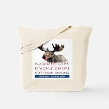 Cute Palin moose Tote Bag