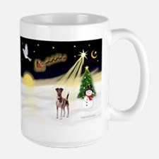 Night Flight/Fox Terrier Large Mug