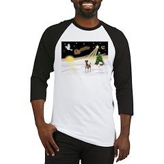 Night Flight/Fox Terrier Baseball Jersey