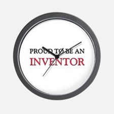 Proud To Be A INVENTOR Wall Clock