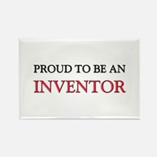 Proud To Be A INVENTOR Rectangle Magnet