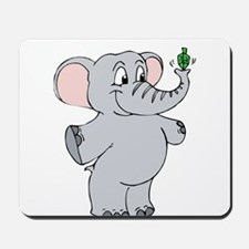 Elephant & Dreidel Mousepad