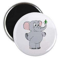 """Elephant & Dreidel 2.25"""" Magnet (10 pack)"""