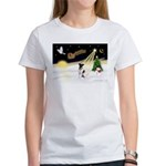 Night Flight/Fox Ter #1 Women's T-Shirt