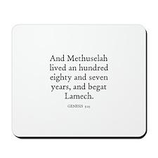 GENESIS  5:25 Mousepad