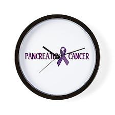 Pancreatic Cancer Wall Clock