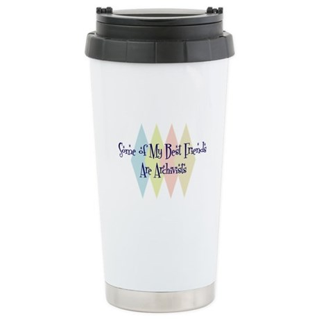Archivists Friends Stainless Steel Travel Mug