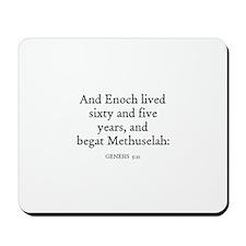 GENESIS  5:21 Mousepad