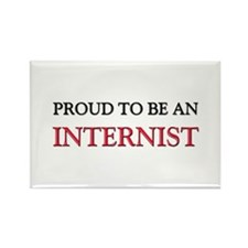 Proud To Be A INTERNIST Rectangle Magnet