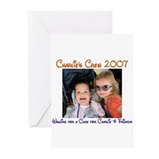 Charlie's Crew 2007 4 Greeting Cards (Pk of 10)