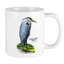Great Blue Heron Small Mug