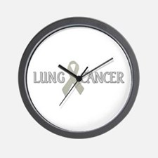 Lung Cancer Wall Clock