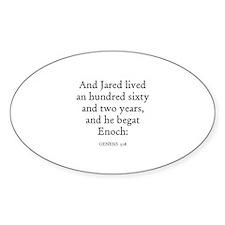 GENESIS 5:18 Oval Decal