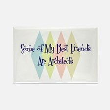 Architects Friends Rectangle Magnet (10 pack)