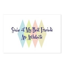 Architects Friends Postcards (Package of 8)