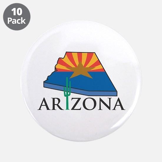 """Arizona Pride! 3.5"""" Button (10 pack)"""