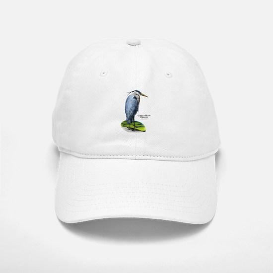 Great Blue Heron Baseball Baseball Cap