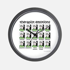 therapist emotions Wall Clock