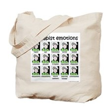 therapist emotions Tote Bag