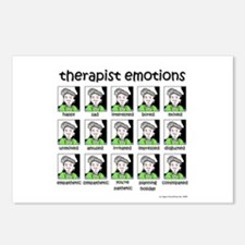 therapist emotions Postcards (Package of 8)