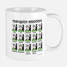 therapist emotions Small Mugs