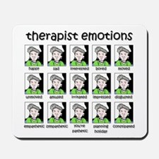 therapist emotions Mousepad