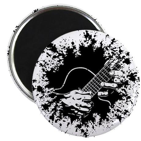 "Guitar Hands II -splat 2.25"" Magnet (100 pack)"