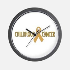 Childhood Cancer Wall Clock