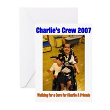 Charlie's Crew 2007 3 Greeting Cards (Pk of 10)