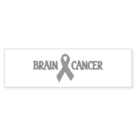 Brain Cancer Bumper Sticker