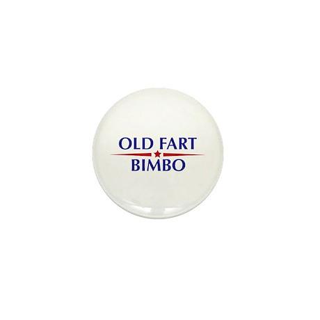 Old Fart - Bimbo Mini Button