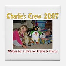 Charlie's Crew 2007 2 Tile Coaster