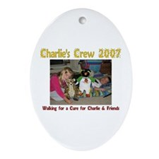 Charlie's Crew 2007 2 Oval Ornament