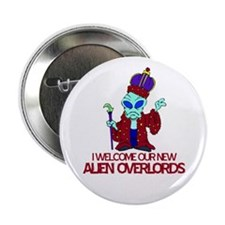 """Alien Overlords 2.25"""" Button (10 pack)"""