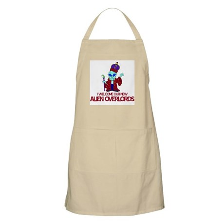 Alien Overlords BBQ Apron