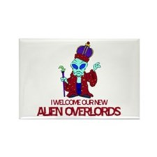 Alien Overlords Rectangle Magnet (10 pack)
