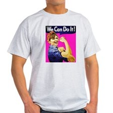 We Can Do It! - Pink T-Shirt
