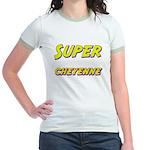 Super cheyenne Jr. Ringer T-Shirt