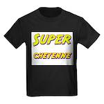Super cheyenne Kids Dark T-Shirt