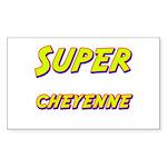 Super cheyenne Rectangle Sticker