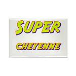 Super cheyenne Rectangle Magnet (10 pack)