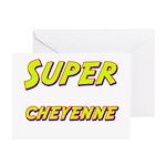 Super cheyenne Greeting Cards (Pk of 10)