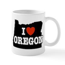 I Love Oregon Mug