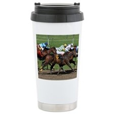 Horse Race Travel Mug