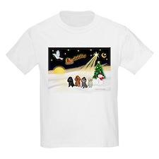 Night Flight/4 Poodles T-Shirt