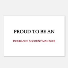 Proud To Be A INSURANCE ACCOUNT MANAGER Postcards