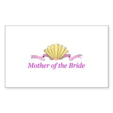 Mother of the Bride Rectangle Sticker 10 pk)