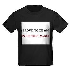 Proud To Be A INSTRUMENT MAKER Kids Dark T-Shirt