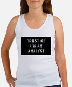 Analyst Gift Women's Tank Top