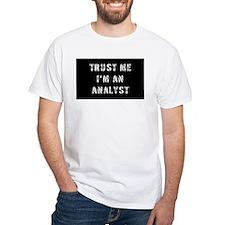 Analyst Gift Shirt